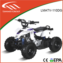 Chinese brand 4 strokes 110cc mini quad atv with four wheels for sale