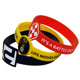 Boce custom different shape silicone bracelet with logo design