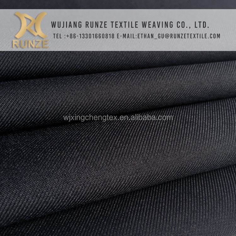 Multi-function Polyester 75D/3*300D uniforms materials suitable for dyed gabardine