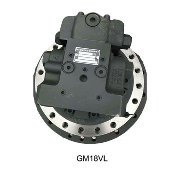 Hot sale hydraulic travel motor with reduction gearbox GM18VL Final drive for excavator spare parts