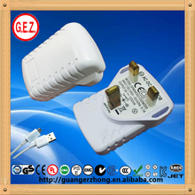 Factory wholesale usb charger ac adapter with CE&ISO
