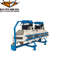 Industrial suction gravity classifying destoner/suction grading machine in india