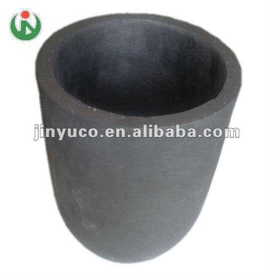 Kiln furnace using SiC graphite silicon carbide crucible for melting Al, Cu, Zn, Sn