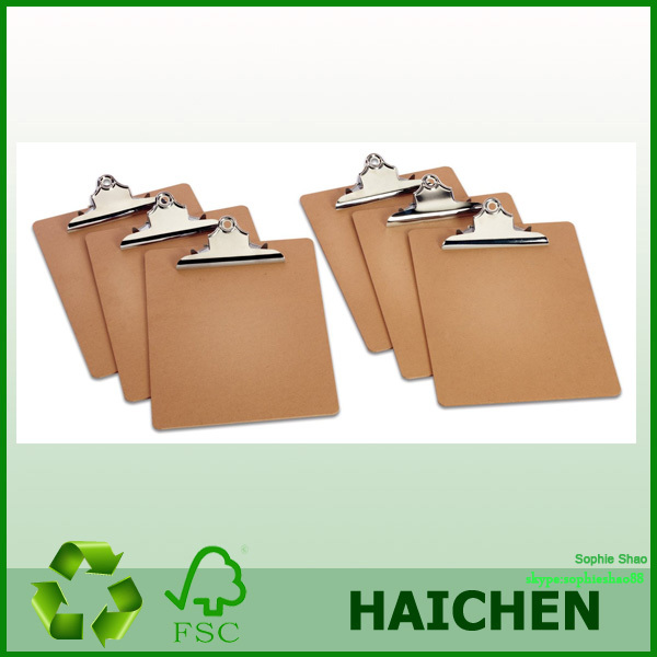 High Quality Office A4 Clip Board,Wood Clipboard S141120-8