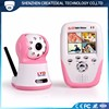 480P Night Vision Sound Detection Wireless Digital Baby Monitor With Camera 387D