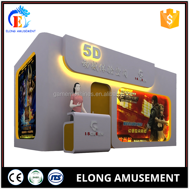 Cinema Box Cabin Simulation 5d Theater Product 8 Seats Theater 7D Cabin on Sale