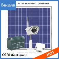 Self Charger Cctv Solar Wireless Battery Powered Ip Camera