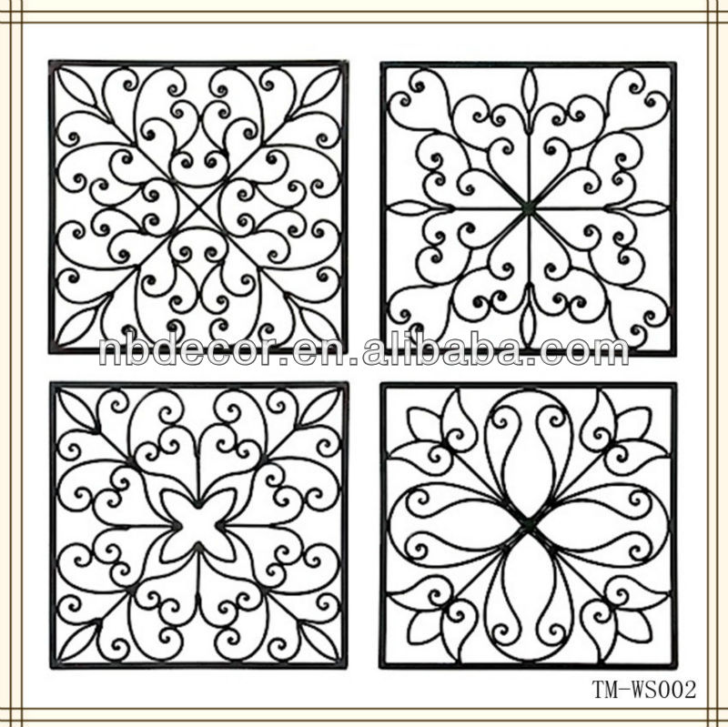 New Design For 2013 Metal Wrought Iron Wall Art - Buy Metal Wall