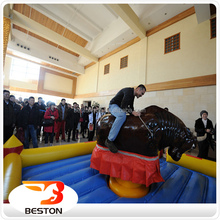 hot sale adult mechanical rodeo bull price, rodeo bull riding machine for sale