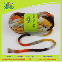 2015 new design hot sale roving yarn super bulky in cheap price from Top Line brand