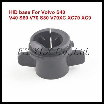Hid Xenon Bulb Holder Adapter Base For Volvo S40 V40 S60 V70 S80 ...