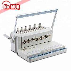 3 Years warranty office book binder comb binding machine price from manufacture