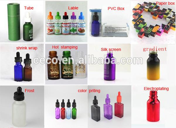 e liquid bottle labels