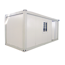 Stahl modulare flache pack 20ft container tiny <span class=keywords><strong>haus</strong></span> vorgefertigte