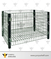 foldable mesh laundry basket