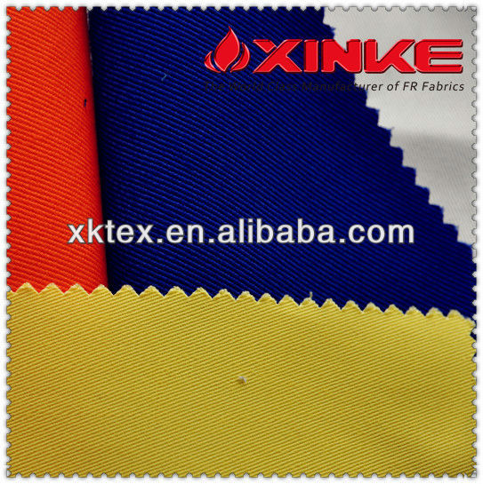 350GSM Cotton Fireproof fabric for overall