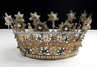 Tiara, Wedding Crown, Crown, Antique french crown, Jeweled Crown, Hair Jewelry