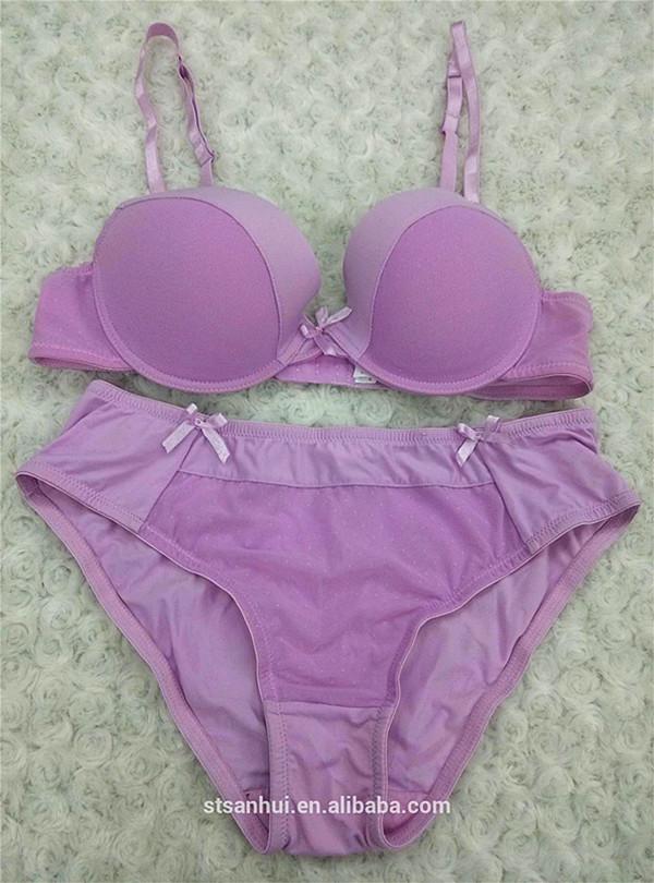 39c6d6f45 women bra set transparent inner wear china factory bra panty set sale