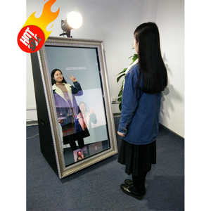 55 Inch Touch Screen Photo Booth Machine, Photo Booths And Kiosks, The Photo Booth Kiosk