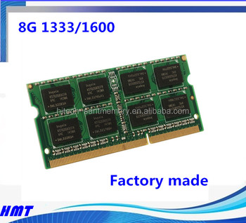 Laptop Memory Ram Ddr3 Sodimm 1600 Speed 8gb 1gx8x8c Laptop Memoria