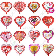 18 inch Spanish Te amo balloon Heart i love you balloon Helium Foil balloons Valentine's day wedding decoration