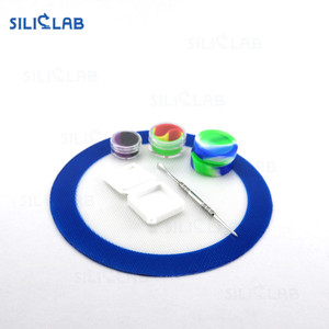 Non-stick heat resistant concentrate dab mat silicone wax pad oil mat