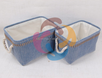 Straw storage basket folding laundry basket China supplier & Straw Storage Basket Folding Laundry Basket China Supplier - Buy ...