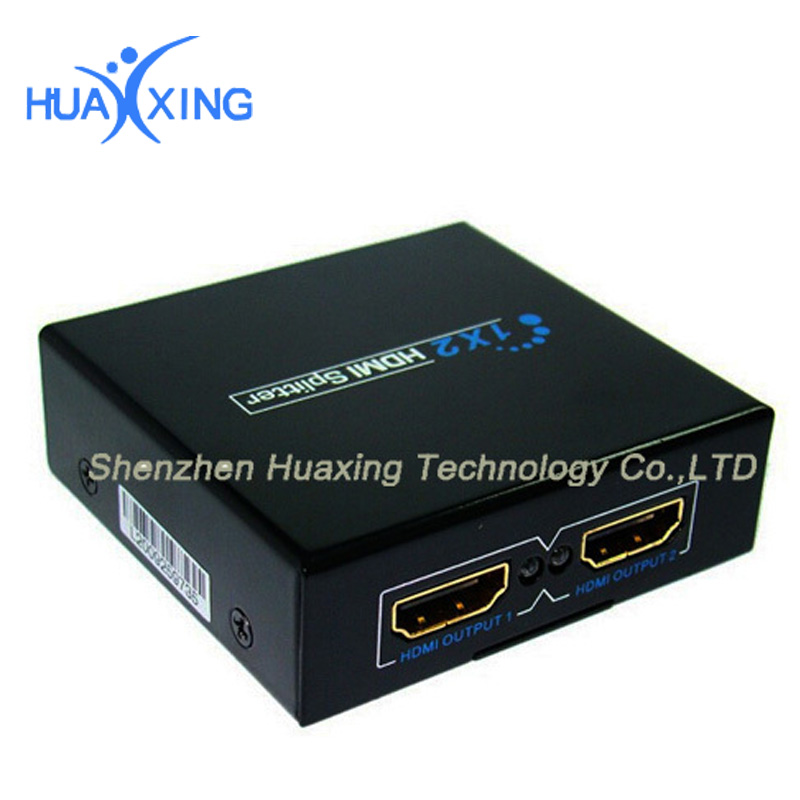 3D 1 in 2 out 4K*2K HDMI Switcher Switch Selector Splitter 1.4Version For HDTV