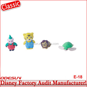 Disney Universal NBCU FAMA BSCI GSV Carrefour Factory Audit Manufacturer 3D cartoon iwako erasers animal