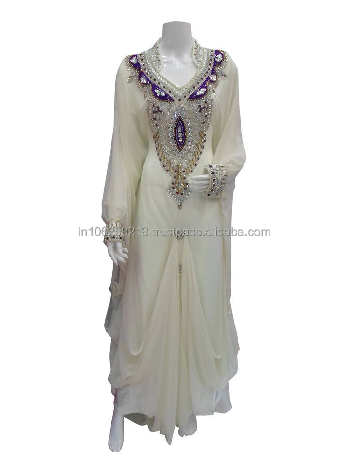 Hand Made Khaleeji Dubai Dress k6165