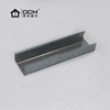 Metal stud frame for partition wall and ceiling C and U steel studs