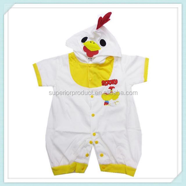 6b056625a Children animal Pyjamas cosplay chicken costume baby romper Halloween  Christmas costume for kids