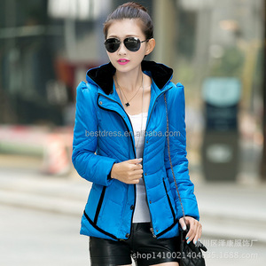 Women Winter long Cotton Padded Coat Parka Down Jacket