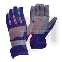 Dark Grey & Navy Blue Car Racing Gloves