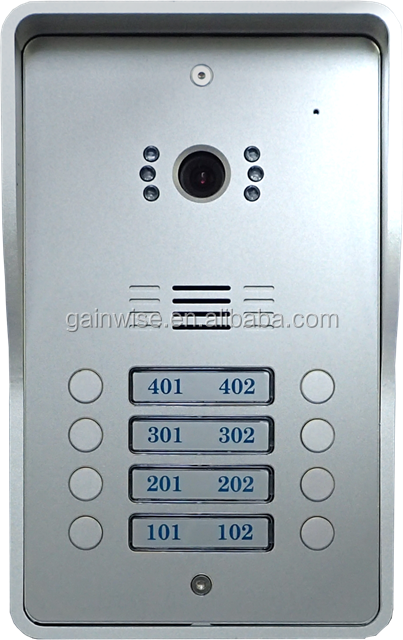 GSM Intercom for flats apartments or offices electric door and gate opener home security controller relay switch via SMS or free
