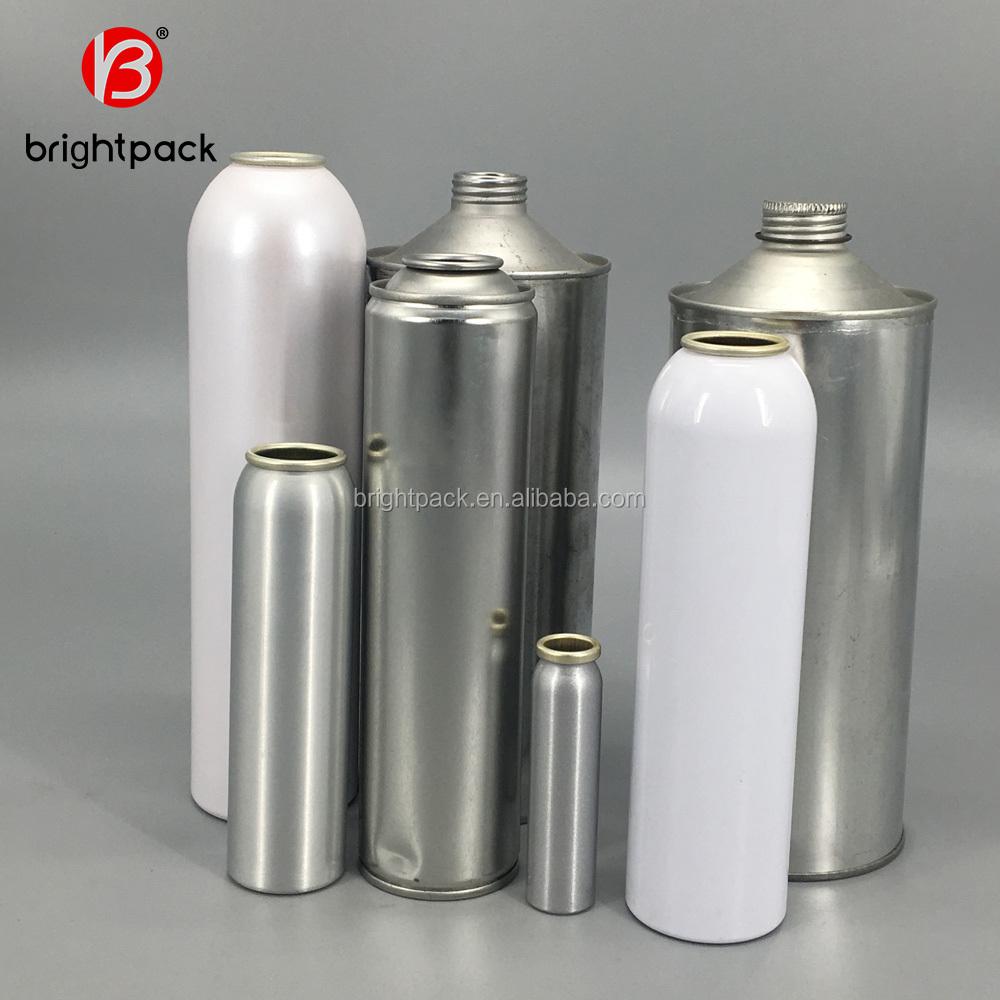 Custom empty aluminum Aerosol spray can/aerosol can/Empty tin cans