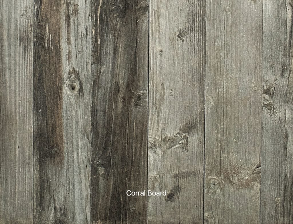 Montana Timber Products - Sample Board - Exterior Siding And Interior Wall Cladding- Corral Board Mixed Silver