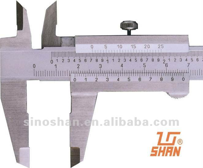 (140-135S) 0-300mm x 0.02mm Stainless Steel Mechanical Mono-Block Vernier Caliper