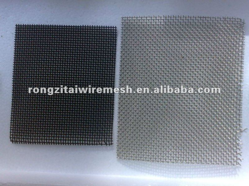 cheap electro galvanized window screen