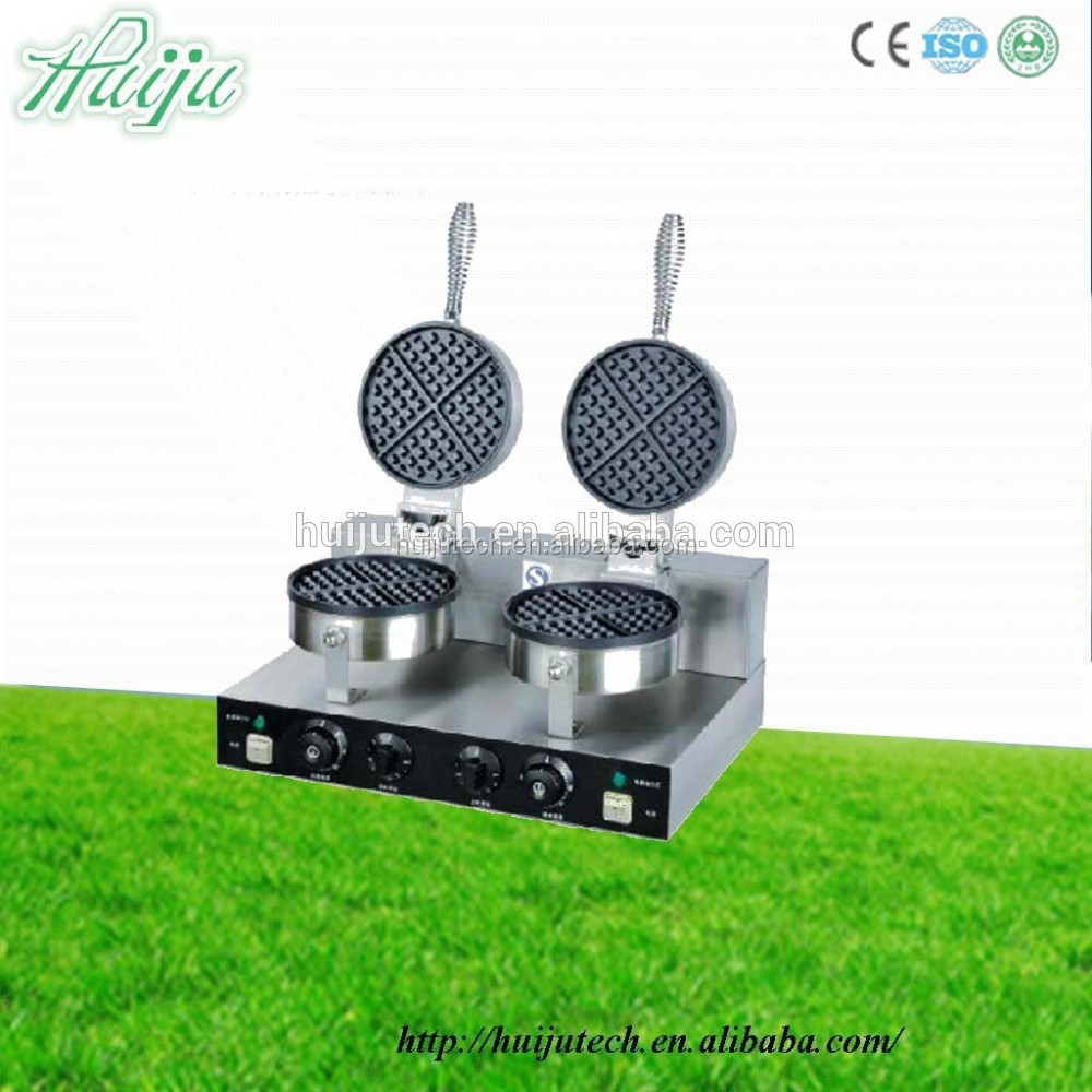 automatic stainless steel waffle maker custom plate with different waffle maker shapesHJ-MN016