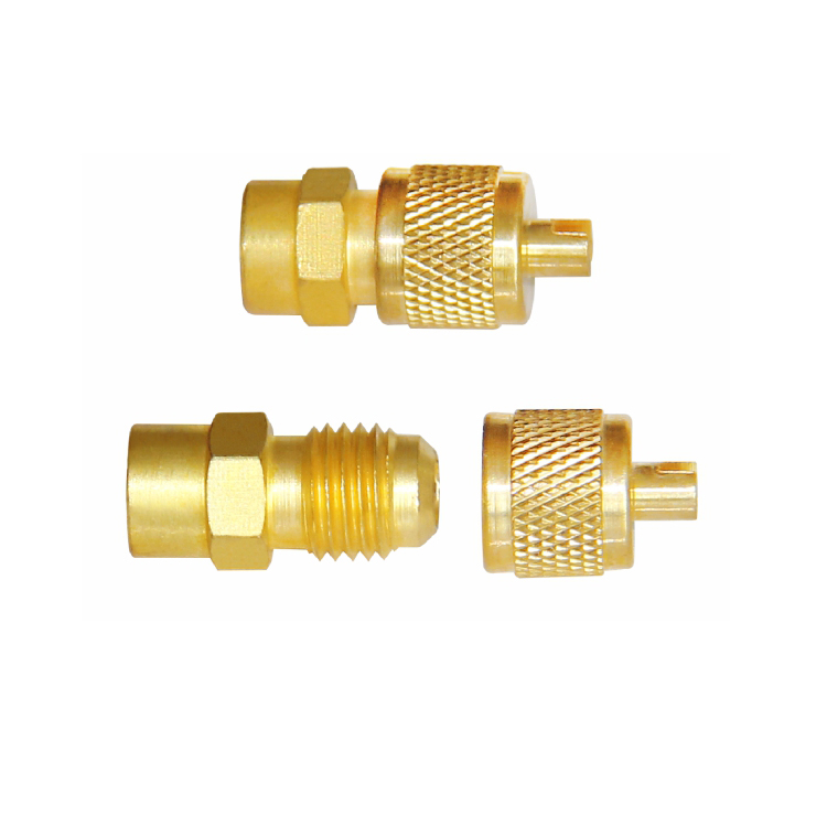 High quality high temperature /low temperature resistance brass one-way flow valve access valve for refrigeration equipment