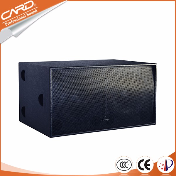 Outdoor activity use pro sound speakers,powered speaker subwoofer 18 inch for dj