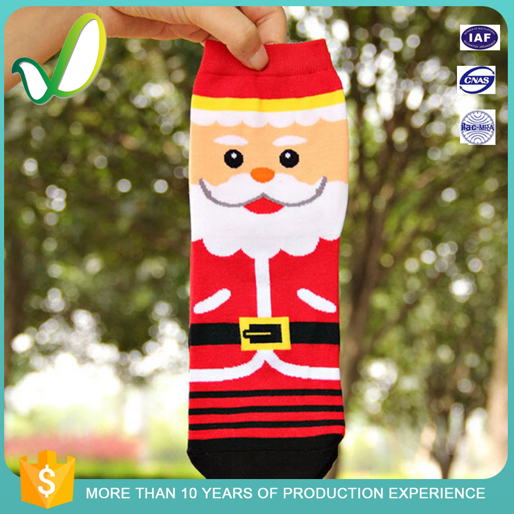 Funny Wholesale Cheap Christmas Design Socks