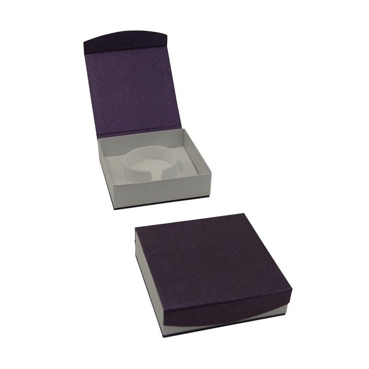 การออกแบบที่กำหนดเองแม่เหล็กคุณภาพสูงบรรจุภัณฑ์กระดาษแข็งสร้อยข้อมือเครื่องประดับของขวัญกล่อง