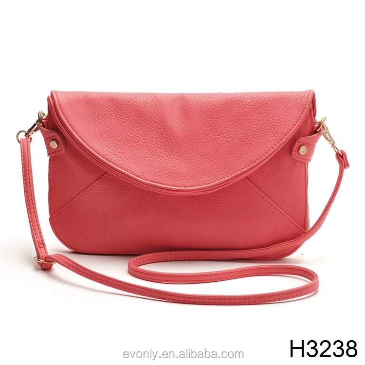 H3238 Womens Leather Envelope Shoulder Bags Ladies Small Vintage ...
