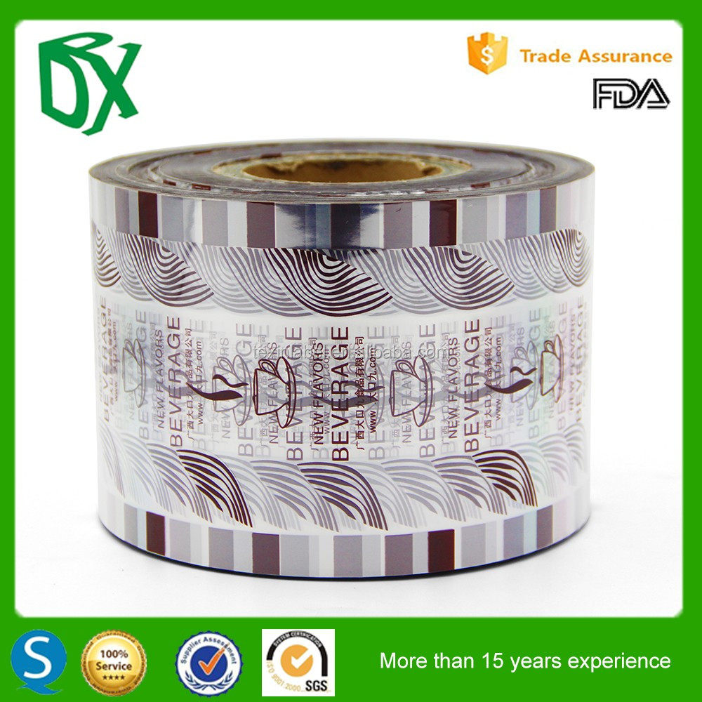 nice colored printing airtight packing shrink wrap film