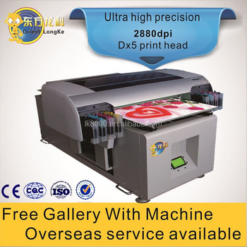 Hot Sale Uv Flatbed Id Card Printer Wedding Card Printing Machine