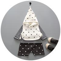Unique Design Boutique Boys 3Pcs/Set Clothing Sets Wholesale Cotton Baby Toddler Clothing
