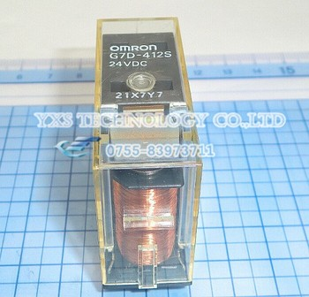 24VDC Safe relay G7D-412S 24VDC ,new , stock