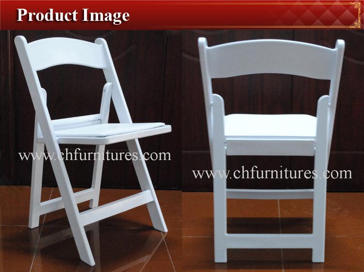 Avant Garde Plastic White Wedding Folding Chairs Yc Af01